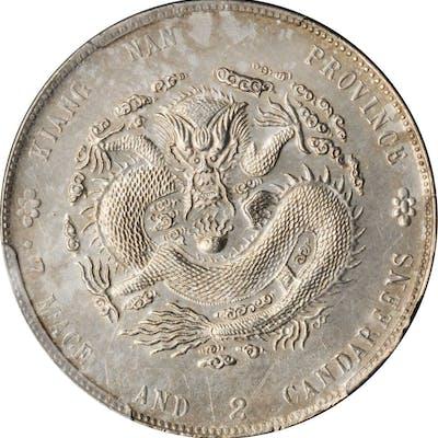 CHINA. Kiangnan. 7 Mace 2 Candareens (Dollar), CD (1904). PCGS Genuine--Harshly