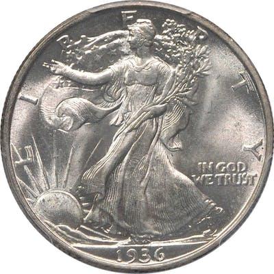 1936 Walking Liberty Half Dollar. MS-67 (PCGS).