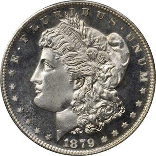 1879-S Morgan Silver Dollar. MS-68 PL (PCGS).