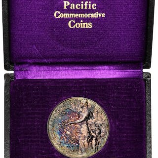 Complete Three-Piece Set of 1915-S Panama-Pacific Exposition Commemorative