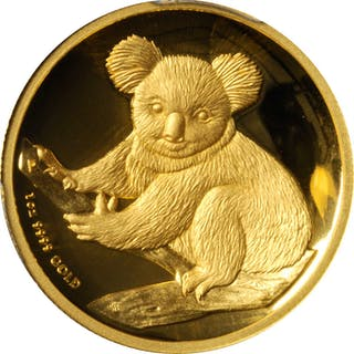 AUSTRALIA. Koala 100 Dollars, 2009-P. Perth Mint. PCGS PROOF-70 Deep Cameo.