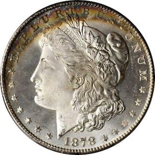 1878-S Morgan Silver Dollar. MS-67 (PCGS). CAC.
