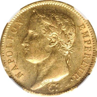 FRANCE. 40 Francs, 1811-A. Paris Mint. Napoleon I. NGC MS-61.