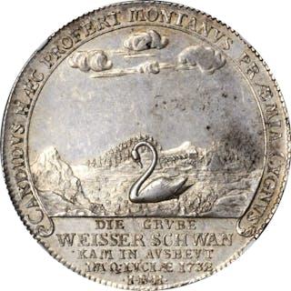 GERMANY. Brunswick-Wolfenbuttel. Taler, 1752-IBH. Zellerfeld Mint.