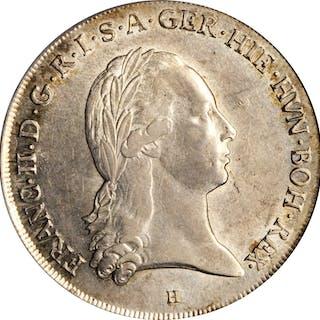 AUSTRIAN NETHERLANDS. Taler, 1796-H. Gunzburg Mint. Francis II. PCGS