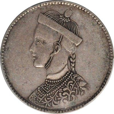 CHINA. Szechuan-Tibet. Rupee, ND (1911-33). PCGS EF-45 Gold Shield.