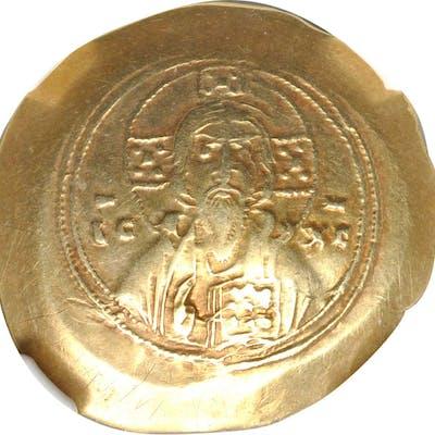 MICHAEL VII, 1071-1078. EL Histamenon Nomisma, Constantinople Mint.