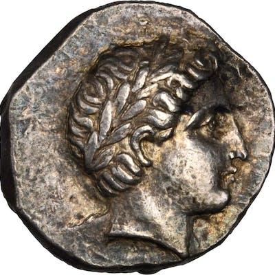 MACEDON. Kingdom of Paeonia. Patraos, ca. 335-315 B.C, AR Tetradrachm