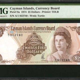 CAYMAN ISLANDS. Currency Board of the Cayman Islands. 25 Dollars