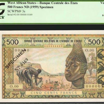 WEST AFRICAN STATES. Banque Centrale des Etats de l'Afrique de l'Ouest.