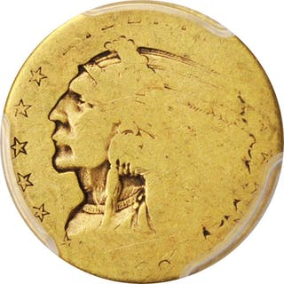 1908 Indian Quarter Eagle. Poor-1 (PCGS).