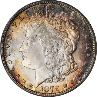 1879-S Morgan Silver Dollar. MS-66 (PCGS).
