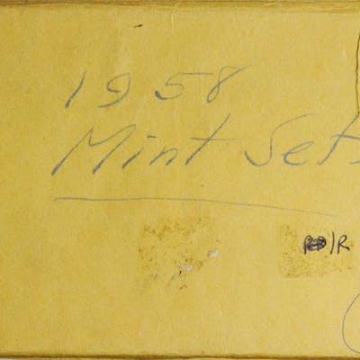 1958 Mint Set. Mint State (Uncertified).
