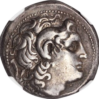 THRACE. Kingdom of Thrace. Lysimachos, 323-281 B.C. AR Tetradrachm