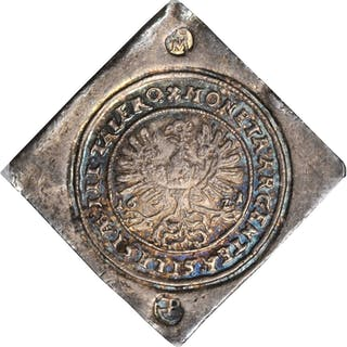 GERMANY. Silesia. Uniface Klippe 3 Taler, 1621. Glogau Mint (Poland).
