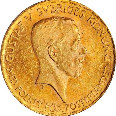 SWEDEN. 20 Kroner, 1925-W. PCGS MS-63.