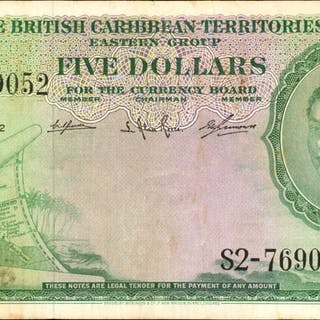 BRITISH CARIBBEAN TERRITORIES. British Caribbean Territories Eastern
