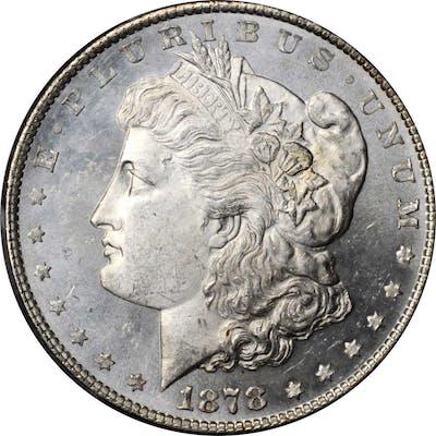 1878 Morgan Silver Dollar. 8 Tailfeathers. MS-65 (PCGS).