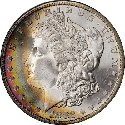 1882-S Morgan Silver Dollar. MS-67 (PCGS). CAC. OGH.