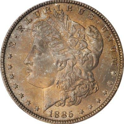 1885 Morgan Silver Dollar. MS-65 (ANACS). OH.