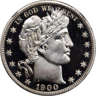 1900 Barber Half Dollar. Proof-68 Ultra Cameo (NGC).