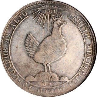 GERMANY. Saxe-Henneberg-Ilmenau. Taler, 1693-BA. Friedrich II. NGC