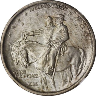 1925 Stone Mountain Memorial. MS-66 (NGC).
