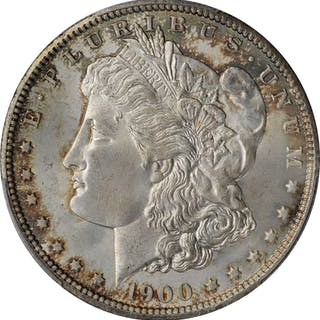 1900-O Morgan Silver Dollar. MS-65 (PCGS).