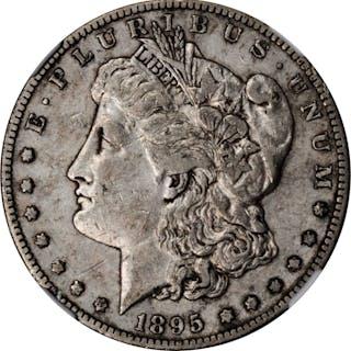 1895-S Morgan Silver Dollar. EF-40 (NGC).