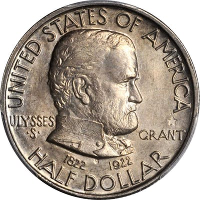 1922 Grant Memorial. Grant Star. MS-64 (PCGS). CAC.