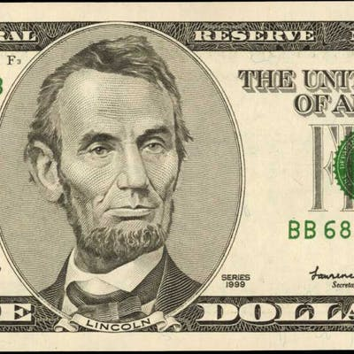 UNITED STATES. Fr. 1987-B. 1999 $5 Federal Reserve Note. New York.