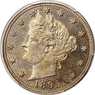 1895 Liberty Head Nickel. Proof-62 (PCGS).