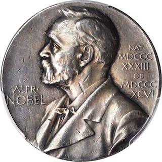 SWEDEN. Nobel Nominating Committee for Medicine Silver Medal, ND.