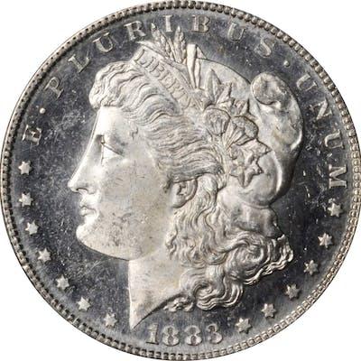 1883-S Morgan Silver Dollar. MS-63 (PCGS). CAC.