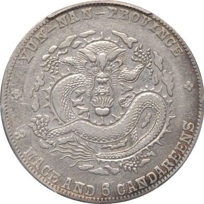 CHINA. Yunnan. 3 Mace 6 Candareens (50 Cents), ND (1909-11). PCGS