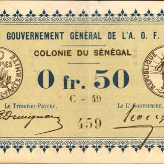 SENEGAL. Gouvernement General de l'Afrique Occidentale Francaise.