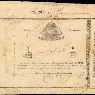 HAITI. Empire d'Haiti. 2 Gourdes, 1851. P-15a. Very Fine.