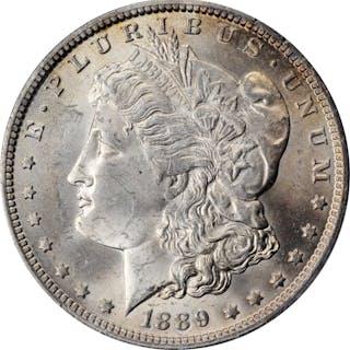 1889-O Morgan Silver Dollar. MS-62 (PCGS).