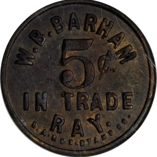 Lot of (3) Trade Tokens. (NCS).