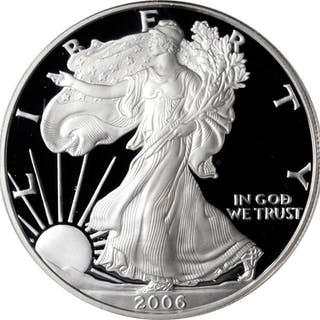 Complete 2006 Silver Eagle 20th Anniversary Set. (ANACS)