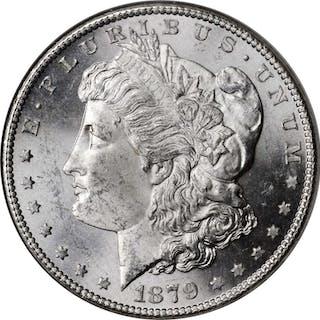 Lot of (4) Morgan Silver Dollars. MS-64 (NGC).