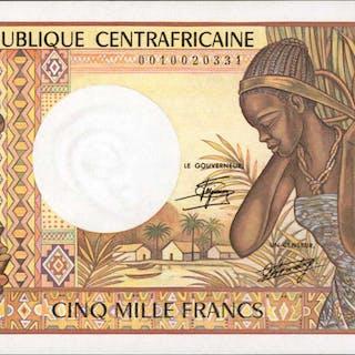CENTRAL AFRICAN REPUBLIC. Banque des Etats de l'Afrique Centrale.