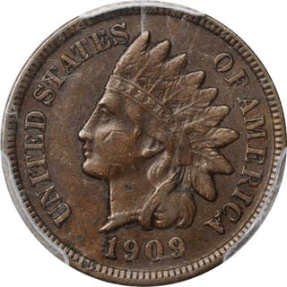 1909-S Indian Cent. EF-40 (PCGS).