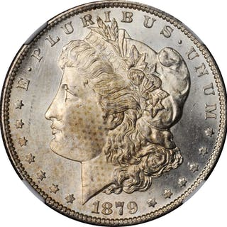 1879-S Morgan Silver Dollar. MS-66 (NGC).