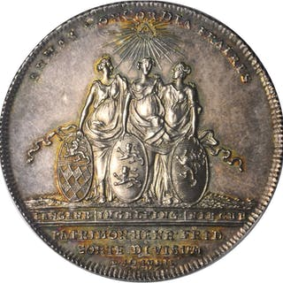 GERMANY. Hohenlohe-Langenburg. Taler, 1751-CGL. Ludwig. PCGS MS-63 Gold Shield.