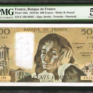FRANCE. Banque de France. 500 Francs, 1979-86. P-156e. PMG Choice