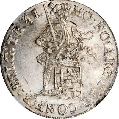 AUSTRIAN NETHERLANDS. Batavian Republic. Silver Ducat, 1805. Utrecht