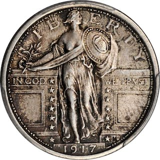 1917 Standing Liberty Quarter. Type I. MS-63 FH (PCGS).