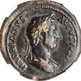 HADRIAN, A.D. 117-138. AE Dupondius (14.26 gms), Rome Mint, A.D. 132-134.