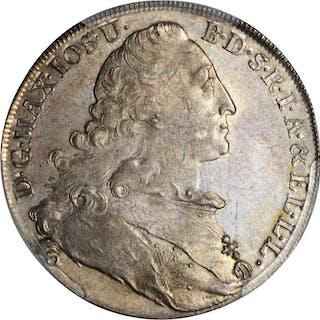 GERMANY. Bavaria. Taler, 1777. Munich Mint. Maximilian III Josef.